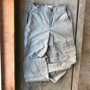 Boys nylon cargo pants/shorts size 12